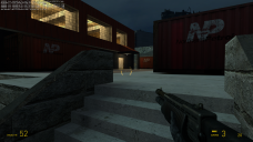 At the end of the dock, a small staircase leads the player to the ground floor, and points them to the entrance of the Port Authority building. The player needs to deal with another fight with guards here.