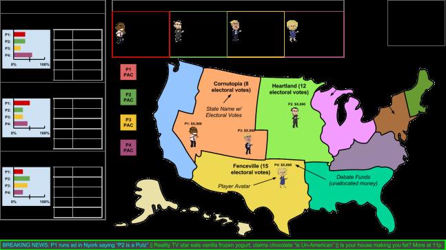 Super PAC Bros! Campaign UI Mockup (PAC) v3